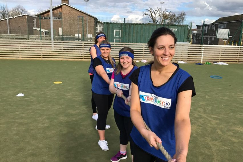 Stag and Hen Dodgeball Outdoor