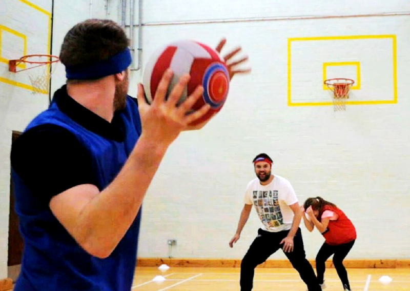 extreme dodgeball Edinburgh
